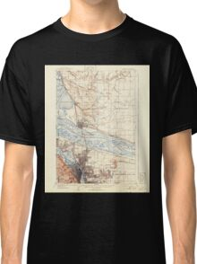 USGS Topo Map Washington State WA Portland 243244 1905 62500 Classic T-Shirt