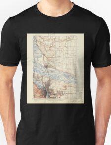 USGS Topo Map Washington State WA Portland 243244 1905 62500 Unisex T-Shirt