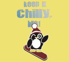 Keep it chilly, bro! Kids Tee