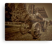 Old Thresher Metal Print