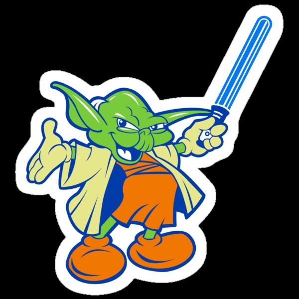 Yody (Stickers) by zerobriant