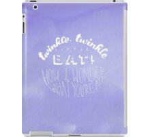 Alice in Wonderland: Twinkle Twinkle iPad Case/Skin