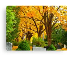 Guardians of the grounds Canvas Print