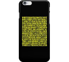 Clash Discography iPhone Case/Skin