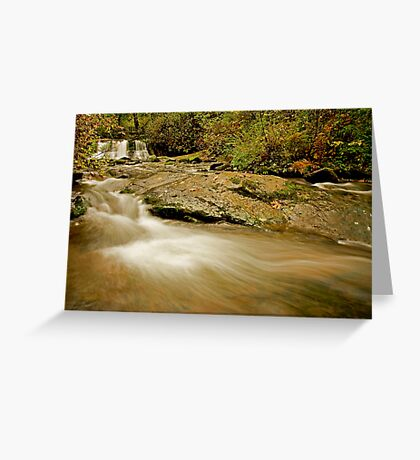 Lower McDowell Creek Falls Greeting Card