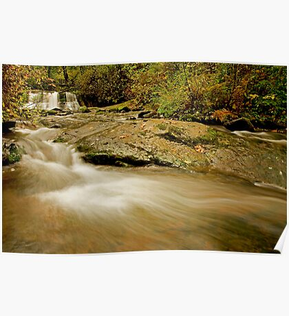 Lower McDowell Creek Falls Poster