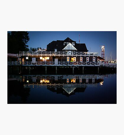 Vancouver Yacht Club Photographic Print