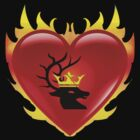 Stannis' Flaming Heart Sigil by Kryshalis