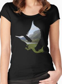 Monster Hunter - Rathalos Women's Fitted Scoop T-Shirt