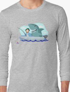 Jaws of Hooper Long Sleeve T-Shirt
