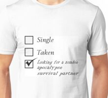 Relationship Status Unisex T-Shirt