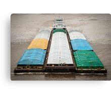 Barge Canvas Print