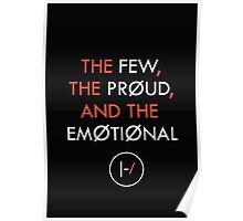 The Few, The Proud, and the Emotional Poster