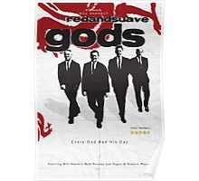 Red and Suave Gods- Bill Shankly, Bob Paisley, Joe Fagan & Ronnie Moran Poster