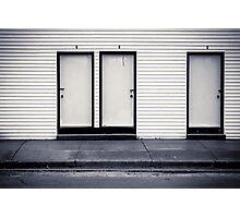 Door Prize Photographic Print