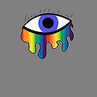 Crying Rainbow - Purple Blue by impulsiVdesigns