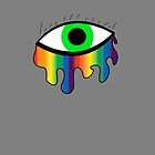 Crying Rainbow - Green by impulsiVdesigns