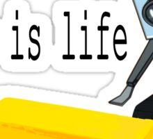 Butter is life Sticker