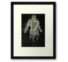Awaken (Black) Framed Print