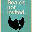 Beards Not Invited: Sad Beard by OddFix