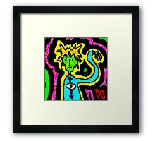 """""""Reality Tripping (Cooked)"""" by Richard F. Yates Framed Print"""