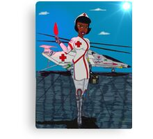 Nurse Laura Canvas Print