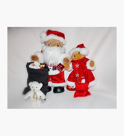 Mr & Mrs Christmas Photographic Print