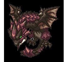 Monster Hunter - Rathalos Sprite Photographic Print