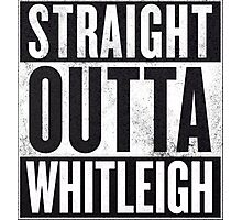 STRAIGHT OUTTA WHITLEIGH Photographic Print