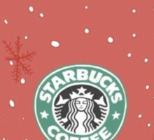 Christmas at Starbucks  Sticker