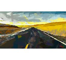 Never Ending Road Photographic Print