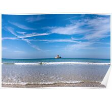 The delectable St. Ouen's Bay, Jersey, C.I Poster