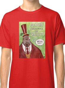 MAYOR CHRISTMAS Classic T-Shirt