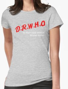 D.R.W.H.O Womens Fitted T-Shirt