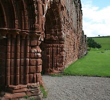 Furness Abbey Arches by Colin Bentham