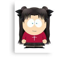 Rin South Park Canvas Print