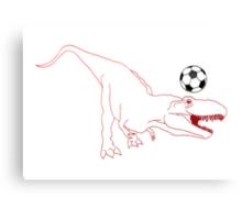Rex United Canvas Print