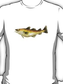 Painting of an Atlantic Cod  T-Shirt