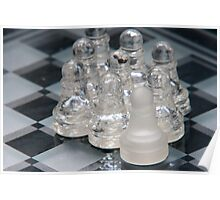 Chess Following Poster
