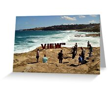 ~The View~ Greeting Card