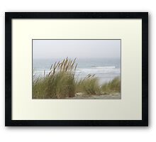 Wind in the Grasses Framed Print