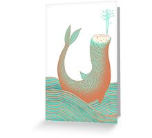 Nessie's Big Day Out Greeting Card