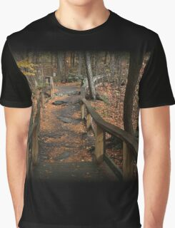Childs Autumn Hike Graphic T-Shirt
