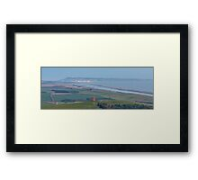 Portland and Surrounding Areas Framed Print