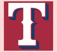 Texas Rangers Color Swap Logo Kids Clothes