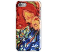 Divine Inspiration: Sea Cucumber 1 dreaming woman angel iPhone Case/Skin