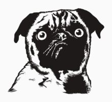 MEAN MUG PUG - Ozzy Inked Bust One Piece - Short Sleeve