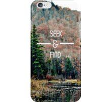 Seek & Find  iPhone Case/Skin