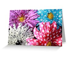 Bouquet Of Polka Dots Greeting Card