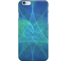 Special Harmony in Blue and Green iPhone Case/Skin